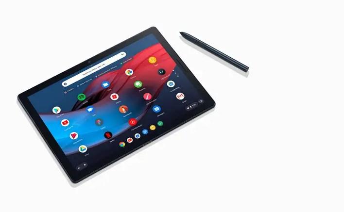 Google Pixel Slate mit Stift