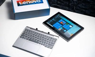 Lenovo IdeaPad D330 ausgepackt