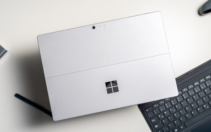 Microsoft Surface Pro 6 Verarbeitung