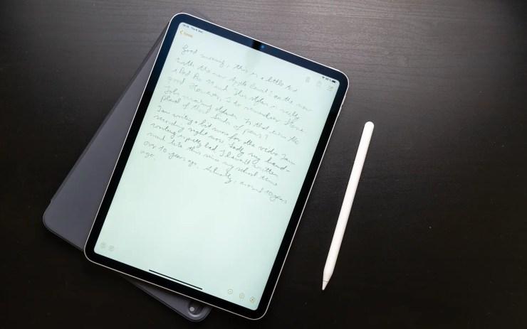 iPad Pro 11 mit Apple Pencil 2
