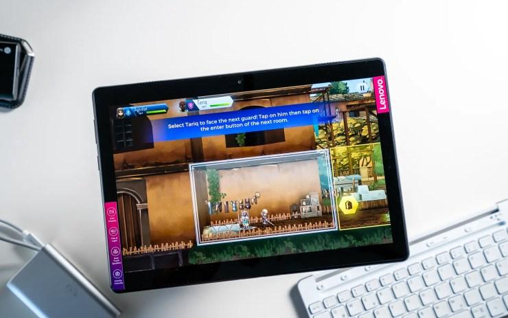 Lenovo Tab M10 Spiele Test