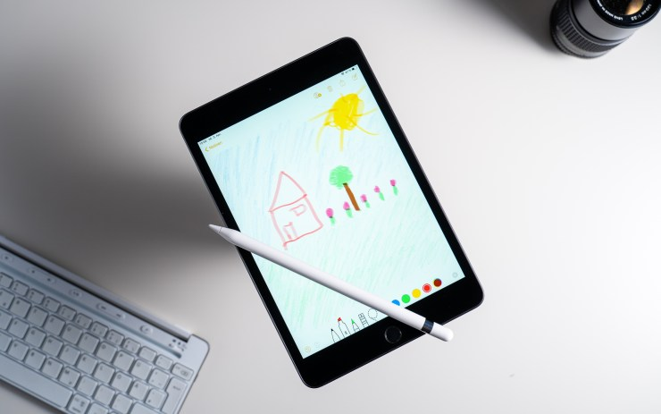 iPad Mini 2019 mit Apple Pencil