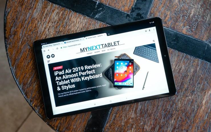 Samsung Galaxy Tab A 10 2019 ausprobiert