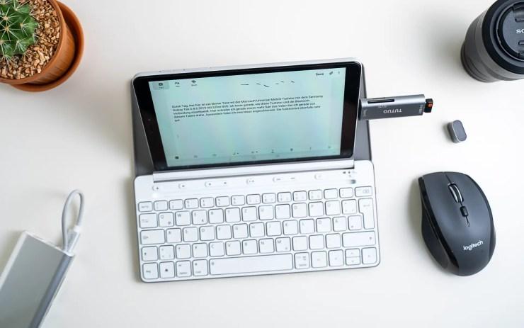 Samsung Galaxy Tab A 8.0 mit Tastatur
