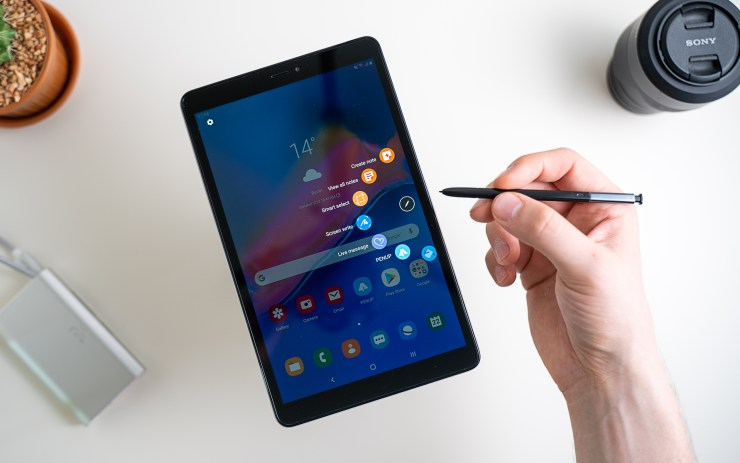 Samsung Galaxy Tab A 8.0 Air Commands