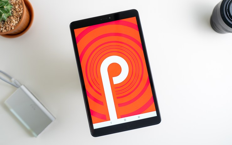 Samsung Galaxy Tab A 8.0 mit Android 9 Pie