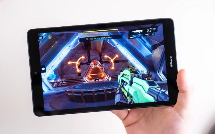 Huawei MediaPad M5 Lite 8 Spiele Test