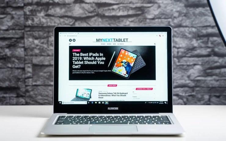 Alldocube KBook mit Chrome