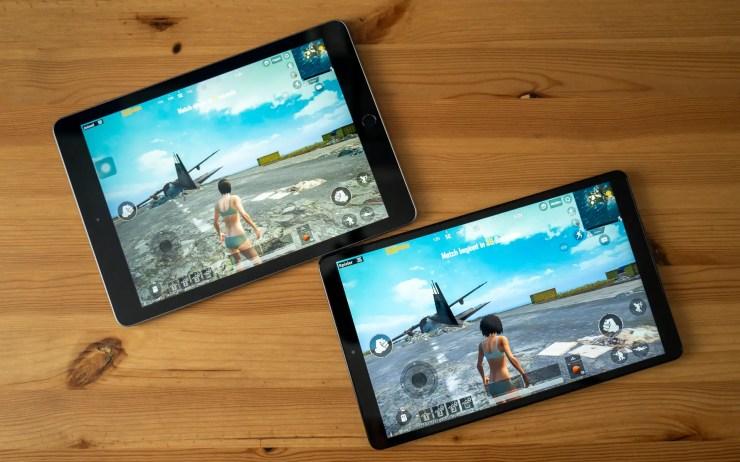 iPad vs Galaxy Tab A 2019 Spiele Test
