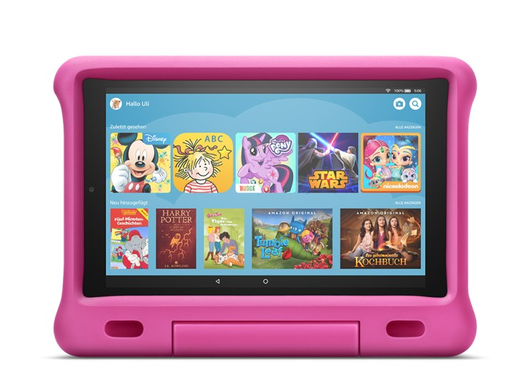 Amazon Fire HD 10 2019 Kids Edition