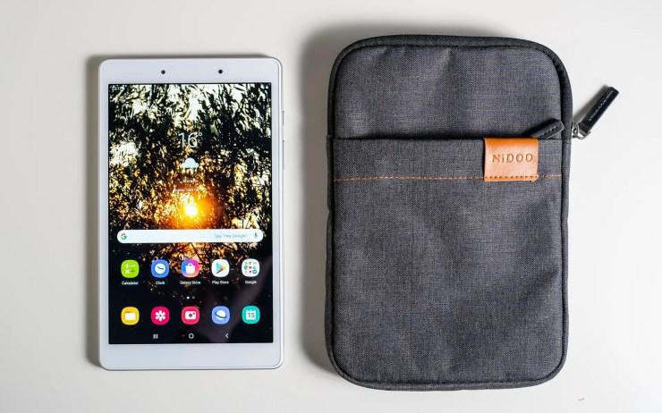 Galaxy Tab A 8.0 mit Nidoo Hülle