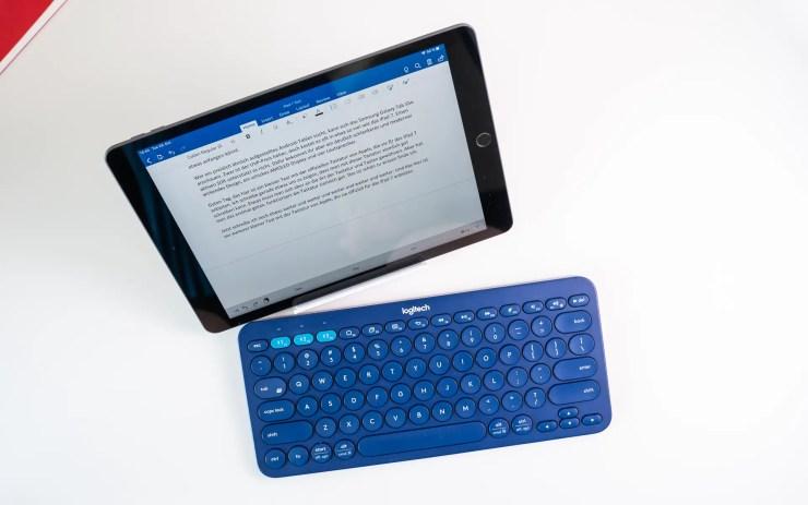 Logitech K380 mit iPad