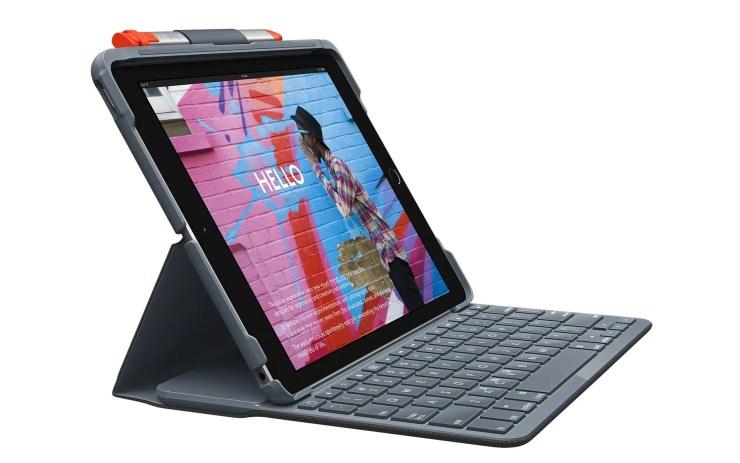 Logitech Slim Folio Tastatur fürs iPad 7