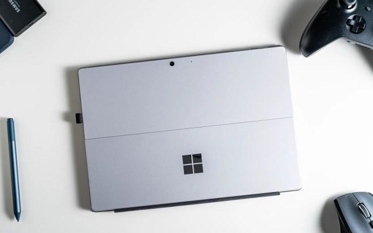 Microsoft Surface Pro 7 Verarbeitung