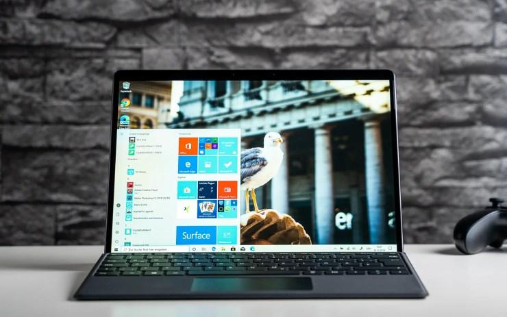 Microsoft Surface Pro X Test