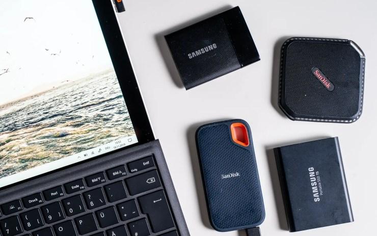 Surface mit SSDs