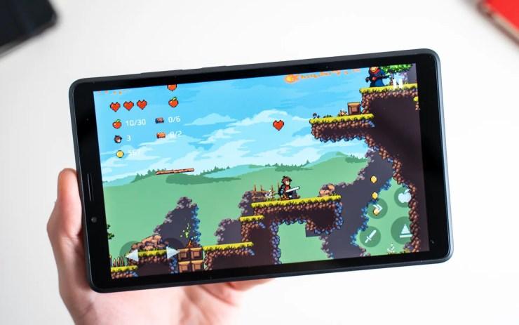 Lenovo Tab M7 Spiele Test