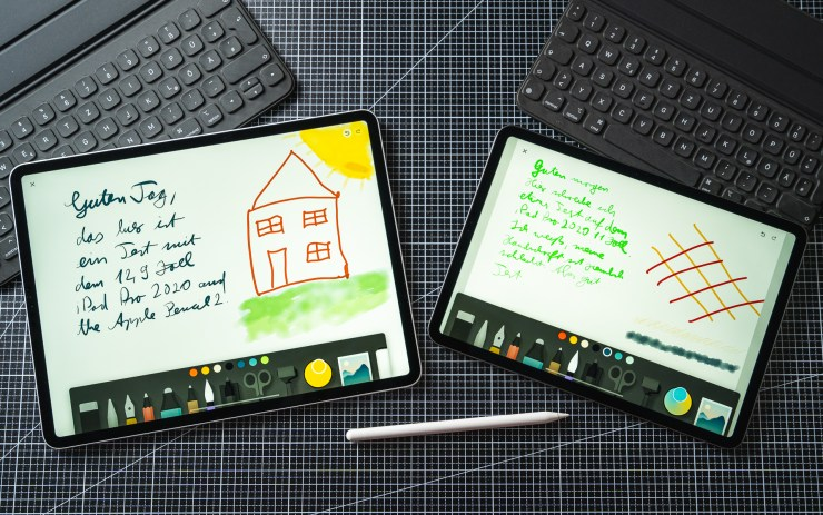 iPad Pro 2020 mit Apple Pencil