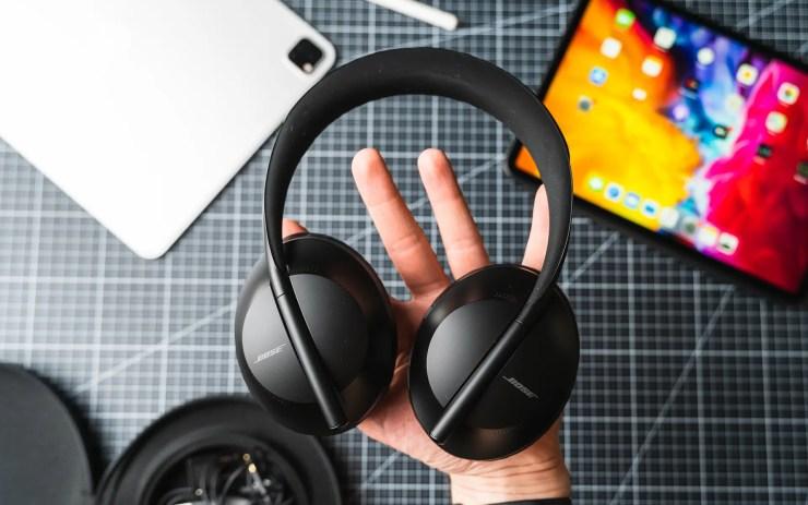 iPad Pro mit Bose 700