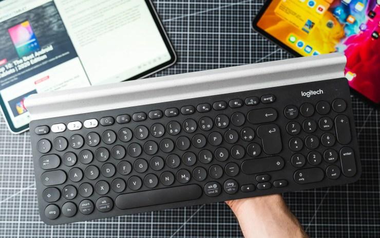 iPad Pro mit Logitech K780