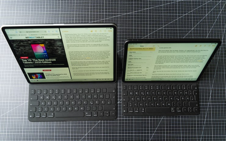 iPad Pro mit Smart Keyboard Folio