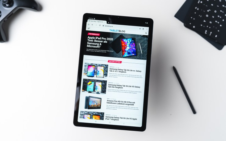 Samsung Galaxy Tab S6 Lite mit Chrome