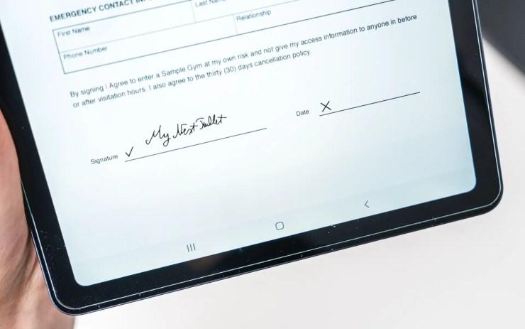 Adobe Fill und Sign
