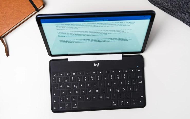Huawei MatePad 10.4 mit Tastatur