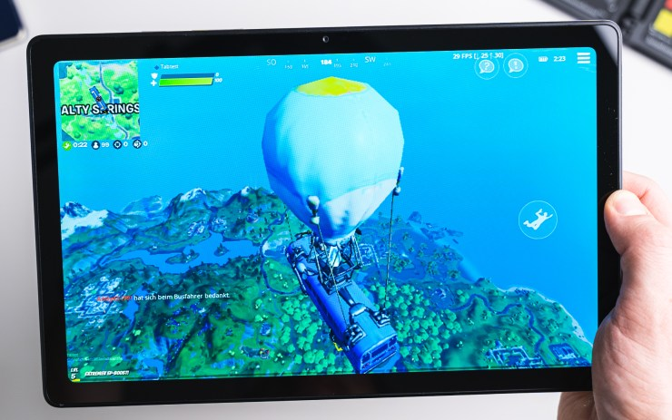 Samsung Galaxy Tab A7 Gaming