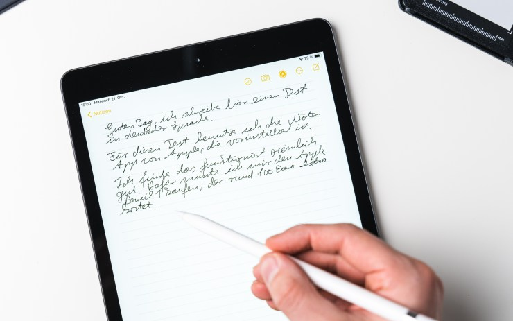 Apple iPad 8 mit Apple Pencil