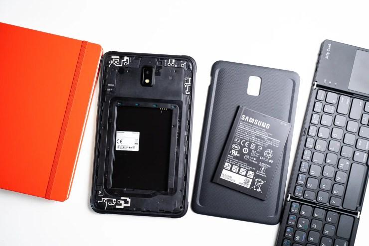 Samsung Galaxy Tab Active 3 austauschbarer Akku