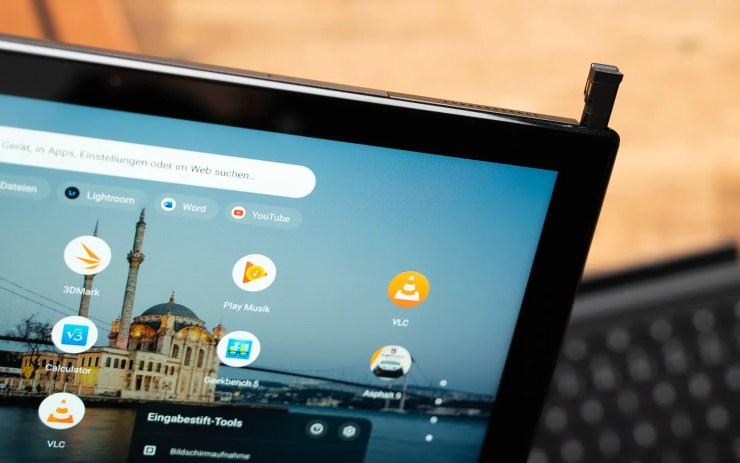 ASUS Chromebook CM3 Stylus Slot
