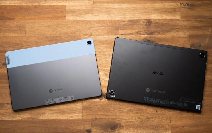 Lenovo Duet Chromebook vs. ASUS Chromebook CM3 Tablets