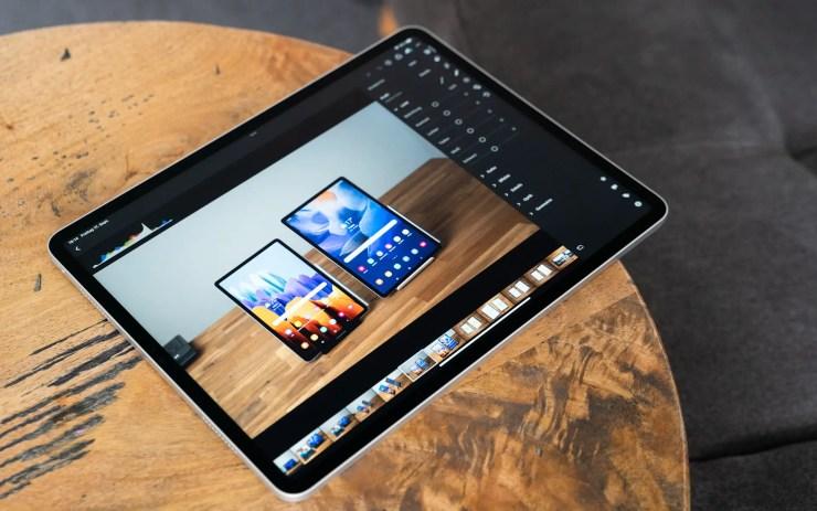 Apple iPad Pro M1 Lightroom
