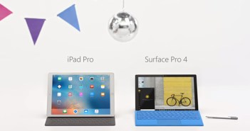Surface Pro 4 vs. iPad Pro commercial