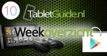 TabletGuide weekoverzicht van week 44 (2016)
