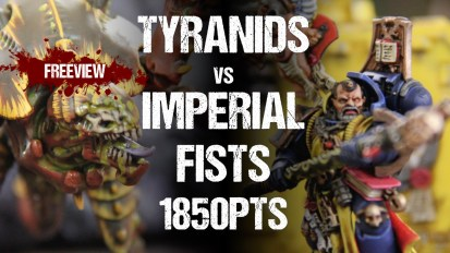 Striking Scorpion 82 Collaboration 40k Battle Report: Tyranids vs Imperial Fists 1850pts