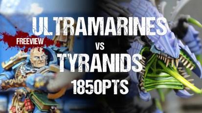 Aceface Collaboration 40k Battle Report: Ultramarines vs Tyranids 1850pts