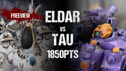 Aceface Collaboration 40k ITC Battle Report: Eldar vs Tau 1850pts
