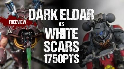 Warhammer 40,000 No Retreat II Tournament Report: Dark Eldar vs White Scars 1750pts