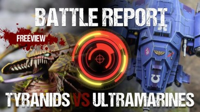 Warhammer 40k No Retreat III Battle Report: Tyranids vs Ultramarines 1750pts
