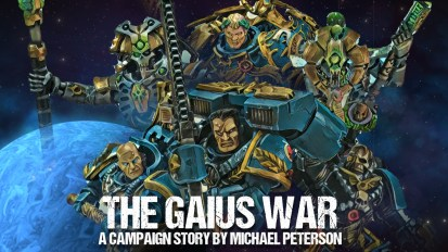 The Gaius War – A Campaign Story By Michael Peterson