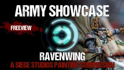 Army Showcase: Studio Ravenwing Commission by Siege Studios
