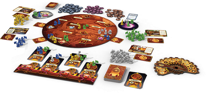 Mission: Red Planet - Components