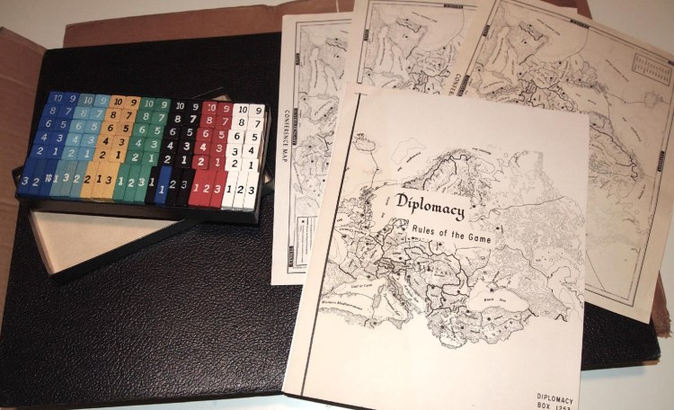 Investing in Board Games - Vintage Diplomacy