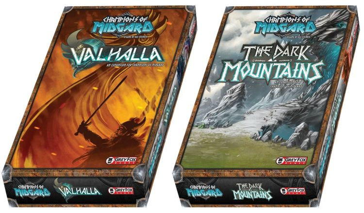 Champions of Midgard Review - Valhalla Dark Mountains expansion