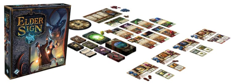 Elder Sign Review - Set Up