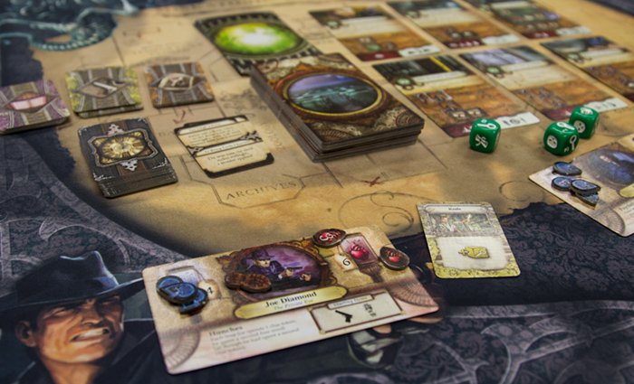 Elder Sign Review - Play mat