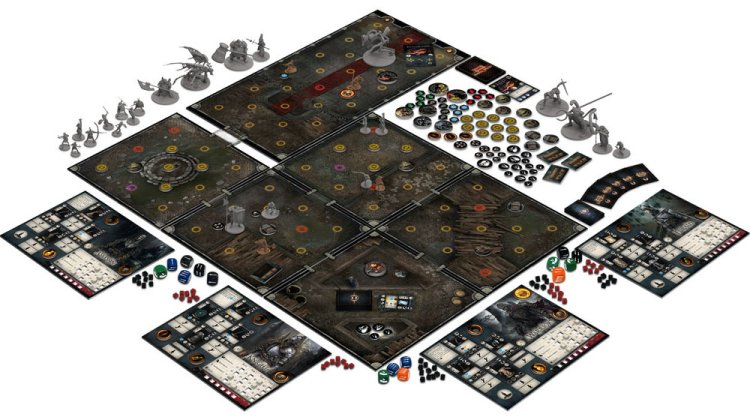 Dark Souls The Board Game - Components