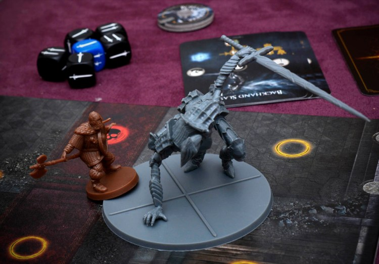 Dark Souls The Board Game - Boreal Outrider Knight